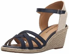 Lucky Brand Womens Kalley3 Fabric Open Toe Casual Espadrille Sandals