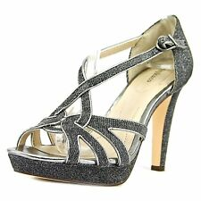 Style & Co. Womens Selinaa Open Toe Formal Ankle Strap Sandals