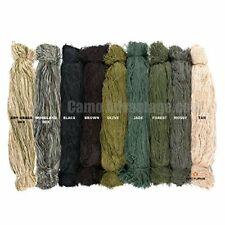 Ghillie Suit Thread - Lightweight Synthetic Ghillie Yarn to Build Your Own Ghill