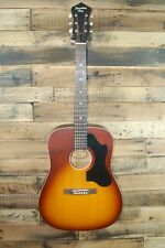 Recording King RDS-7-TS Dreadnought Acoustic Guitar  - Damaged #D0053