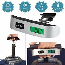 50kg/10g Portable Travel LCD Digital Hanging Luggage Scale Electronic Weight LBA