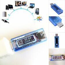 USB Charger Doctor Capacity time Current Voltage Detector Meter Tester New CS