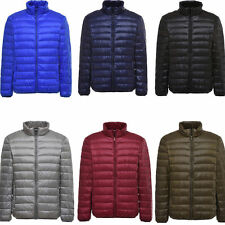 US Mens Winter Warm Parka Slim Padded Down Outerwear Tops Quilted Coats Jackets