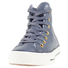 Converse Chuck Taylor All Star Hi Fur Womens Trainers Grey New Shoes