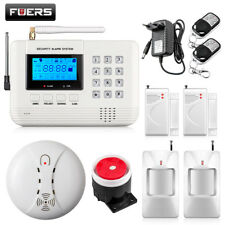 Fuers LCD Keyboard Wireless Home GSM PSTN Alarm systems intelligent auto dial