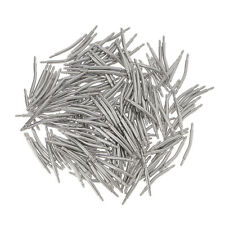 200pcs Wholesale Stainless Steel Link Curved Pin Bar 12mm-26mm for Watch Band