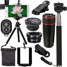 All in1 Accessories Phone Camera Lens Travel Kit Fr Mobile Smart CellPhone LotSW