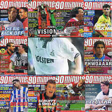 90 Minutes football magazine A4 player picture poster Tottenham Hotspur  VARIOUS