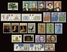 1973 Great Britain Commemorative Stamp Sets Issues Choose Pick Separately MNH