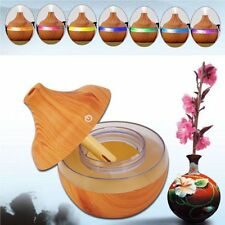 Wooden Air Humidifier Ultra Quiet Cool Mist 300ml Essential Oil Diffuser 2Y