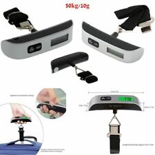 50kg/10g Portable LCD Digital Hanging Luggage Scale Travel Electronic Weights LR