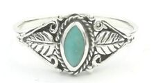 Wild Spirit Turquoise Ring, Sterling Silver Turquoise Ring, 925, Boho, Gypsy