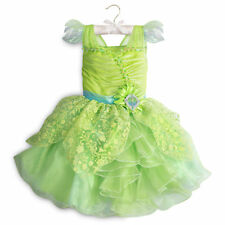 Halloween costume girls kids child size Tinker Bell fancy party dress princess
