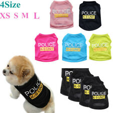 Fashion Small Dog Cat Vest Security Puppy T-Shirt Coat Pet Clothes Apparel Warms