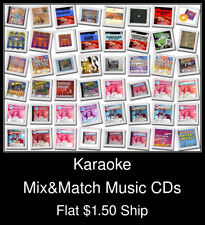 Karaoke(1) - Mix&Match Music CDs U Pick *NO CASE DISC ONLY*