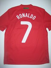 2010 Nike Portugal Cristiano Ronaldo World Cup Kit Shirt Jersey Authentic