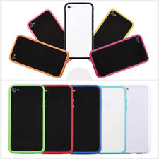 TPU Silicone Frame Bumper Hard Case Cover Skin for iPhone 4G 4S WQ