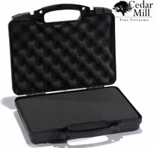 Pistol Case Gun Case Hard Lockable TSA & AIRLINE CERTIFIED Carbon Fiber Handgun