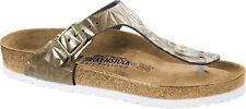 Birkenstock Gizeh Leather Soft-Footbed Spectral Women Sandals footbed slide NEW
