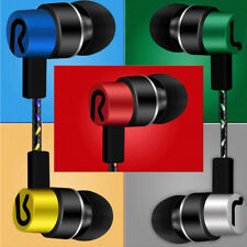 3.5mm With Mic Ultra Bass Music In Ear Stereo Headphone Headset Earphone Earbuds