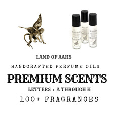 Premium Perfume Oil Roll On Fragrance You Choose Scent Buy 3 Get 1 FREE List A-H