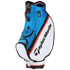 """2018 TaylorMade Mens Tour Cart Bag 8.5"""" - New Golf Players Staff Carry Trolley"""