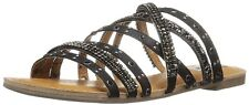 Not Rated Womens Caviar Open Toe Casual Strappy Sandals