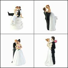 Wedding Cake Topper Funny Bride & Groom Decorative Wedding Cake Toppers Figurine