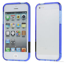 Cool Clear Crystal Bumper Skin Frame Hard Case Cover For Apple iPhone 5 5S