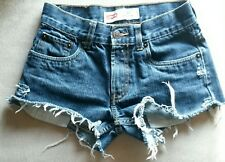 Womans Levi's Distressed/Reworked Shorts Size 26   #S40