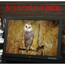 Andoer 8'' 10'' 15'' 17'' HD LCD Digital Picture Photo Album Frame MP3 MP4 F6M3
