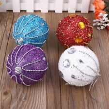 Christmas Tree Glitter Ball Festival Stage Ornaments Xmas Hanging Decor Gifts