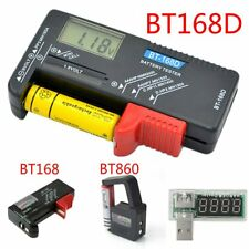 AA AAA 9V 1.5V Universal Button Cell Battery Volt Tester Checker Indicator *#