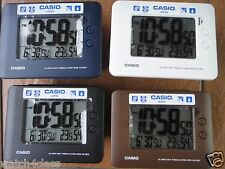 Casio DQ-982N Auto Calendar Thermometer Alarm Clock Light 12/24 Hour humidity