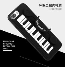 BEST Case for iPhone/3D Piano Keys Holder Phone Cases/Make Sound  Cover Coque