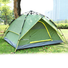 Waterproof 3-4 Person Double layer Automatic Instant Outdoor Camping Tent MP
