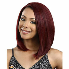 Burgendy Synthetic Bob Wig Straight  Hair Full Wig Short Lace Front Wig iVogue