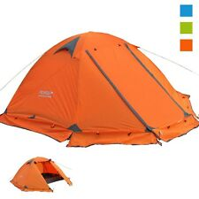 Tent Camping Outdoor Windproof Waterproof Hiking 2 Persons 3 Double Tourist Camp