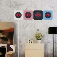 Wall Mounted CD Player FM Radio Bluetooth Music Speaker Home Audio Boombox O6A3