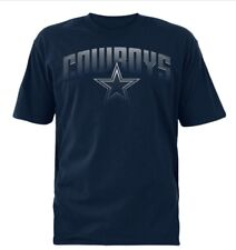 Dallas Cowboys NFL Men's Team Logos Navy Short Sleeve Graphic T-Shirts: M-XL