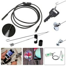 5m USB Endoscope HD Camera Borescope Waterproof Inspection For Android PC