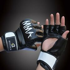 Boxing MMA Gloves Grappling Punching Bag Training Martial Arts Sparring UFC YC