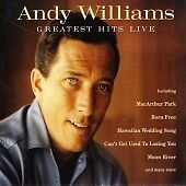 Andy Williams - Greatest Hits Live CD