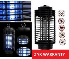 110V Electric Mosquito Fly Bug Insect Zapper Killer Night Light With Trap Lamp A