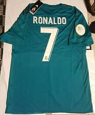 Real Madrid Sergio Ramos James RONALDO Short Sleeve Soccer Jersey Camisa 2017 18
