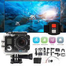 Waterproof Portable 4K Dual Screen Wifi 1080P Sports Action Camera DVR Camcorder