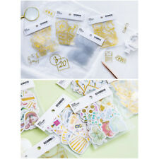 45X Paper Stickers For Diary Decoration DIY Scrapbooking Stationery Stickers