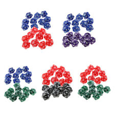 Pack of 20pcs Polyhedral Role Playing Games D20 Dices Twenty Sided for TRPG