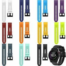 Silicone Wrist Band Watch Strap for Garmin Fenix 5/Forerunner 935 Replacement