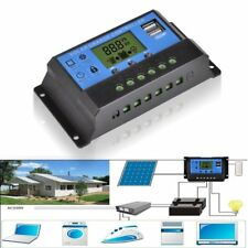12V/24V Solar Panel Charger Controller Battery Regulator USB LCD Controller LX